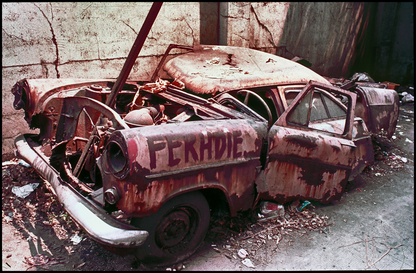 3. Ferhdie the car