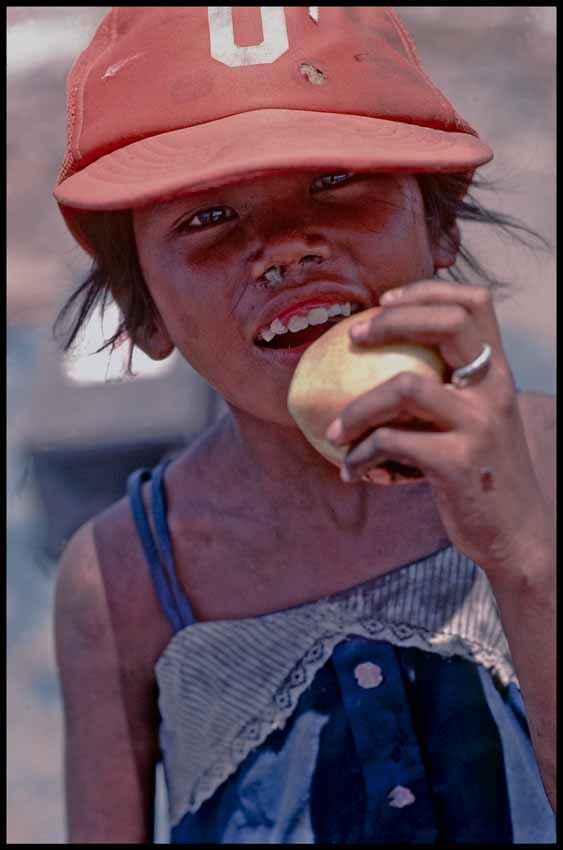 140. Girl with apple