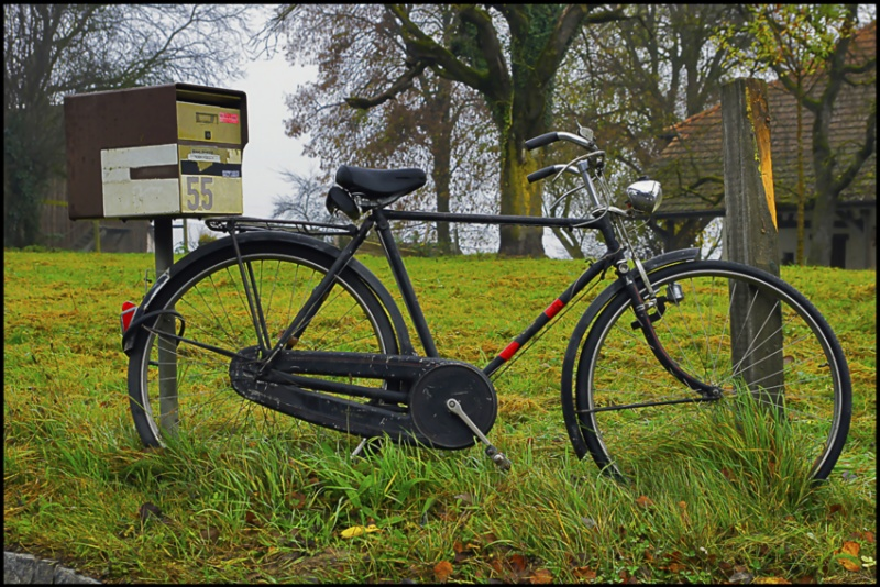 33.Bicycle and letterbox